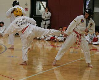 Orange belt sparring